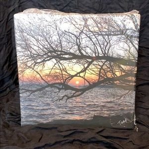 """""""Embracing the Dusk"""" Signed Print on Canvas"""